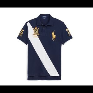 RL short sleeve polo shirt